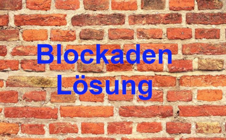 Blockaden Lösung durch Hypnose in Leipzig